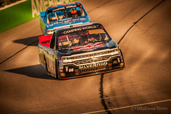 DSC_5961 (Oskaloosa News) Tags: world camping chevrolet car sport june racecar truck cole outdoor weekend wide iowa racing chevy nascar vehicle opening trucks autoracing 18 silverado haas automation speedway custer 2016 haasautomation