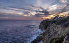 Laguna Beach sunset (acase1968) Tags: nikon california coast sky pacific ocean beach d750 nikkor 24120mm f4g lagunabeach