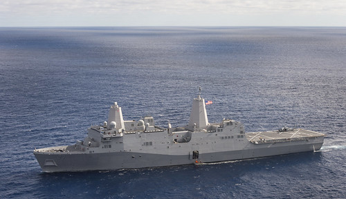 nasa pacificocean anchorage orion outerspace usnavy recovery combatcamera lpd usnssalvor lpd23 eft1 explorationflighttest ussannchorage