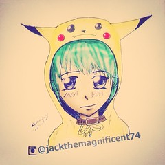 Drawing Pokemon pikachu anime face    (jacksomalian74) Tags: red wallpaper black anime green eye art love face yellow electric painting hair 3d eyes paint drawing chibi manga retro pikachu pokemon ash draw hairstyle pokmon hairstyles pajamas pajama pika 2014 2015                   instagram