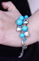 Glimpse of Malibu Blue Bracelet K1 P9510-4