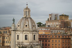 DSC05638 (10_Days_in_Rome) Tags: street old city travel bridge november windows light shadow red vacation urban italy orange cloud white rome roma tower window yellow clouds photography haze italia cityscape shadows walk sony horizon streetphotography e tiber tevere hazy top20 oldtown lazio csc pontesisto sisto tibre latium a7r sel70200g ilce7r fe70200mmf4goss