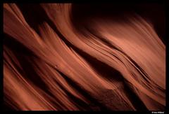 The flow of stone (Dan Wiklund) Tags: arizona usa sunlight nature rock stone sandstone natural page d800 antelopecanyon 2014 navajonation slitcanyon