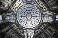 Milan - Vittorio Emanuele Gallery_nose up (Brigante..) Tags: urban milan architecture milano fujifilm brigante noseup xt1 vittorioemanuelegallery samyang8mm