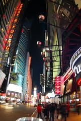 DSC_0053a (Grudnick) Tags: nyc signs newyork night neon theatre manhattan broadway wideangle fisheye timesquare citylights 16mm garish mczenit