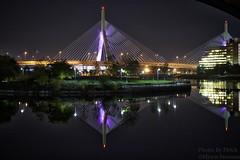 CRW_53493 (photosbyfletch) Tags: bridge autumn usa boston night massachusetts northamerica zakimbridge bans universalhub