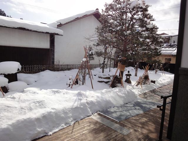 小規模ながら、日本庭園もあります。|飛騨高山まちの博物館