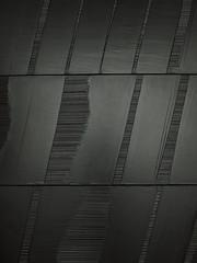 OUTRENOIR II  — Pierre Soulages (1926, Rodez-), Peinture 324*362 cm  Polyptyque, det-1986 (michelle@c) Tags: light black art museum painting noir lumière montpellier musée peinture explore 1968 fabre 2014 contemporain polyptique pierresoulages contemporan outrenoir michellecourteau polyptyche