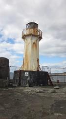 Lighthouse (divnic) Tags: uk lighthouse scotland harbour beacon ardrossan navigationmark northayrshire navigationlight ardrossanharbour ardrossanferryterminal harbourentry