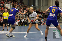 "EHF Damen Deutschland vs. Rumänien 30.11.2014 001.jpg • <a style=""font-size:0.8em;"" href=""http://www.flickr.com/photos/64442770@N03/15728437210/"" target=""_blank"">View on Flickr</a>"