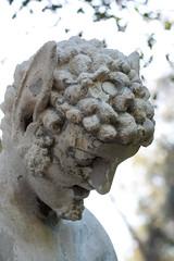 A sad dude (ponz) Tags: california sculpture art statue closeup garden huntingtonlibrary pasadena lrexportviajf