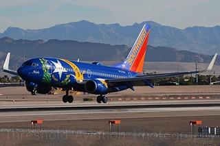 N727SW | Southwest | 737-7H4 | KLAS