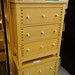 Oak 3 drawer chest of drawers