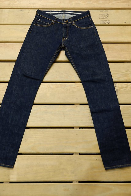 JEANSDA金斯大Fenrir Indigo Rigid Jeans (Tapered)