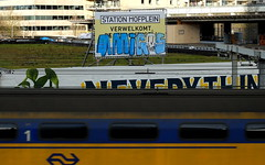 Graffiti (oerendhard1) Tags: urban streetart amigos art up graffiti rotterdam vandalism throw