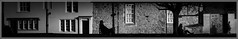 3 People (Will V Photo) Tags: street urban blackandwhite bw panorama blackwhite nikon oxford d7000