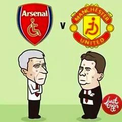 คืนนี้ 00:30น. #พาราพรีเมียร์ลีกอังกฤษ  Arsenal vs Manchester United   นักเตะ เจ็บ เดี้ยง ทั้งคู่ สู้นะแมนยู!!!