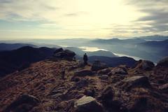 The end- EXPLORE (Francesca Vinzia) Tags: travel boy italy panorama mountain lake guy nature alpes walking landscape end 14mm samyang