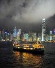 _DSC2441 (the.bryce) Tags: ferry night hongkong starferry victoriaharbour hongkongbay