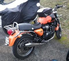 Triumph (gueguette80 ... Définitivement non voyant) Tags: bike club triumph moto british treffen samara picardie decembre motorrad 2014 somme taisnil rassemblement anglaises hivernal