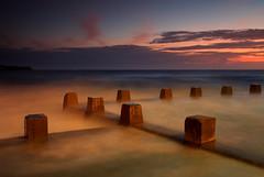 Coogee Baths (Darren Schiller) Tags: ocean sea seascape beach swimming sunrise dawn sydney baths newsouthwales coogee