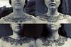 Serie  Disímil (Mönstrifer) Tags: art female ink neck mujer model skins drawing modelo dibujo serie uneven piel clavicles cuellos pieles clavículas skindrawing disímil