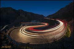 Curva Peligrosa (JuandeCT) Tags: luces noche nightlights nocturna exposicion larga curva