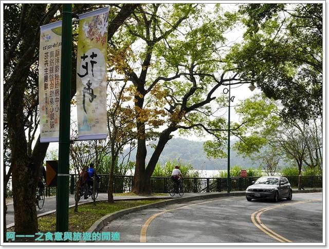 日月潭南投旅遊景點低碳鐵馬電動車電動船雲品下午茶image031