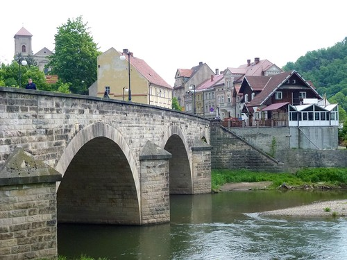 Kamienny most (1515-89) roku na Nysie Kłodzkiej