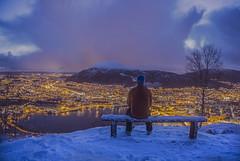 Bergen (Jorn Eriksson) Tags: xmas city winter norway december cityscape sony cityscapes bergen scandinavia a6000 ilce6000