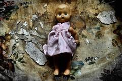 playing with dolls (Szydlak Szk) Tags: old urban abandoned toy doll creepy spooky forgotten horror exploration derelict deteriorated decayed puppe urbex lalka stara szk zabawka verlassene szydlak