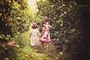 Into the unknown together (Wojtek Piatek) Tags: girls portrait orange orchard zeiss135 sonya99