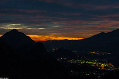 Lights and Colors of December (ghigu 74) Tags: winter sunset cloud color night landscape nikon tramonto nuvole piemonte inverno colori notte paesaggio valsesia d700 civiasco