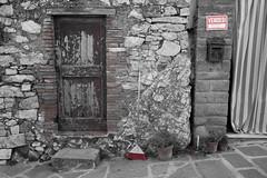 Val D'Orcia (Sandro Albanese) Tags: blackandwhite bw italy verde green landscape italia tuscany crete siena toscana valdorcia paesaggi paesaggio biancoenero cretesenesi orcia valorcia