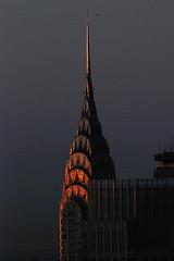 Chrysler Building (shumpei_sano_exp9) Tags: newyork reflection sunrise buildings dawn spire mornings chryslerbuilding urbanlandscape aplusphoto colourartaward flickrestrellas multimegashot