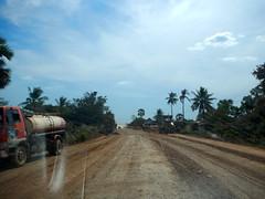 National Highway 7, Cambodia (oledoe) Tags: road tarmac drive cambodia driving ontheroad roadcondition osm:way=168381558 0tagged set:name=201412ratanakiri