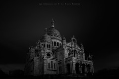 Sacre Coeur (FredConcha) Tags: bw paris france dark nikon cathedral sacrecoeur lee d800 noireetblanc bigstopper fredconcha