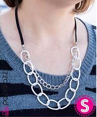 5th Avenue Silver Necklace K1 P2210-5