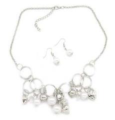 5th Avenue White Necklace P2610A-5 (2)