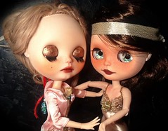 Blythe-a-Day#9 Stop Being Lazy & #21 Huggs: Alexandrina  & Katya: Part 3