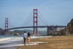 Engagement in San Francisco (PhotographybyMichaelThomas) Tags: sanfrancisco bridge golden engagement gate san francisco couple indian goldengatebridge proposal 2016 photographybymichaelthomas
