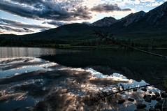Jasper_Pyramid_Lake_1600_1 (psnikon) Tags: mountain lake canada berg see nikon jasper alberta landschaft lanscape kanada 1870 d300 nikond300 pyramidelake