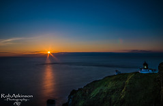 st Abbs head pier (R0BERT ATKINSON) Tags: cliff lighthouse sunrise scotland eastcoast stabbs stabbshead sigma1020 robatkinsonphotography