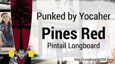 Punked Pines Red Pin (longboardsusa) Tags: red usa pin pines skate skateboards punked longboards longboarding