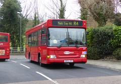 GAL MB 254 - SN54GPZ - OSF - STARTS HILL ROAD - TUE 15TH MAR 2016 (Bexleybus) Tags: road london ahead hill go dennis dart starts metrobus adl 254 orpington goahead sn64gpz
