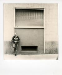 Street (Valt3r Rav3ra - DEVOted!) Tags: blackandwhite bw polaroid streetphotography biancoenero impossible polaroidsx70 instantfilm urbanvisions visioniurbane valt3r valterravera
