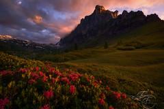 Crimson Tower SE (enricofossati) Tags: mountains alps crimson dark video mood alpine fantasy hautesavoie enricofossati