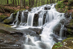 3watermark (Brian M Hale) Tags: new trees fall water forest river waterfall woods rocks stream long exposure brian newengland nh hampshire falls brook milford tucker hale brianhalephoto