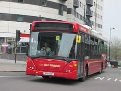 NXWM 7024 SP10CXF 'Caitlin' Masshouse Lane, Birmingham (1280x960) (dearingbuspix) Tags: caitlin nationalexpress travelwestmidlands 7024 nationalexpresswestmidlands nxwm sp10cxf