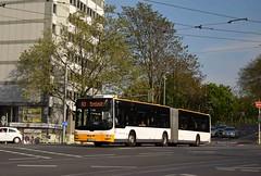MVG 766, Mainz 09/05/16 (MCW1987) Tags: city man bus lion mainzer mainz artic articulated bendy mvg 766 verkehrsgesellschaft mzsw766